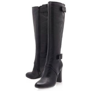 Nine West Leather Oila-N Boot